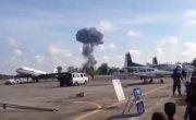 Истребитель JAS 39 Gripen разбился на авиашоу в Тайланде