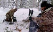 """Выжить вдвоем / Dual Survival - 5 сезон, 11 серия """"Зимний вихрь, часть 2"""""""