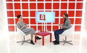 "Программа ""Интервью"" на Восьмом канале. Артур Лукава, Татьяна Шнар"