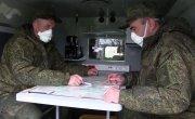 Подготовка оборудования и средств защиты к дезинфекционным работам в Бергамо