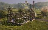Постройка домика