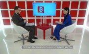 Интервью на 8 канале. Ирина Иванова, Станислав Вахрушев