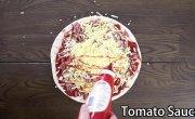 Как сделать пиццу из чизбургеров?
