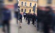 В Харькове замуровали вход в Сбербанк России