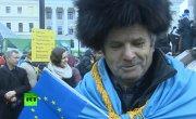 В Киеве призывы к евроинтеграции сменились требованиями отставки правительства