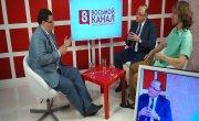 Интервью на 8 канале. Алексей Аксютенко с Евгением Баршаем и Андреем Мужщинским
