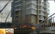 Крупный пожар в Красноярске! Новости 24. Седьмой канал. Специальный выпуск
