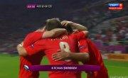 Евро-2012. Чехия-Россия (0:2) гол: Широков