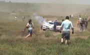 Гоночная машина насмерть сбила пьяного украинца на ралли #2