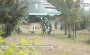 UFO Сенсация. Посадка НЛО и высадка гуманоида (отменный фейк)