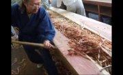 Супер Тонкий Японский Рубанок. Хитрая Резьба по дереву