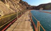 Система подачи воды из карьера в Крыму