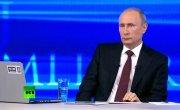 Американское агентство прервало трансляцию «прямой линии» Путина