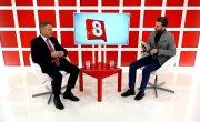 "Программа ""Интервью"" на Восьмом канале. Артур Лукава, Максим Фатеев"