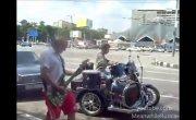 Мотоцикл-оркестр: бременские музыканты на новый лад