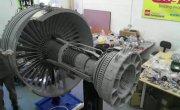 Двигатель самолета, угадай из чего он сделан?
