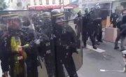 протесты против введения ковидных пропусков во Франции