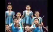 Пропаганда она такая. Скоро детей в российских садах будут заставлять петь подобное.