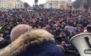 Стихийный митинг в Кемерово. В отставку!