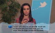 Звезды читаю комментарии в твиттере о себе #1