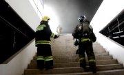 Дворец спорта Ярыгина после пожара 08.05.2018 Первые кадры изнутри