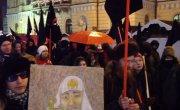 """Демонстрация  """"Против Путина""""  в Хельсинки"""