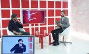 "Программа ""Интервью"" на Восьмом канале. Артур Лукава, Олег Рыбкин"