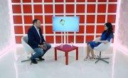 Интервью на 8 канале. Ирина Иванова, Сергей Шахматов