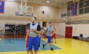 Драка на баскетбольном матче