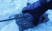 ИС-7 мощный обстрел воздушкой hatsan 125 TH, имитация испытания, танк из пластилина