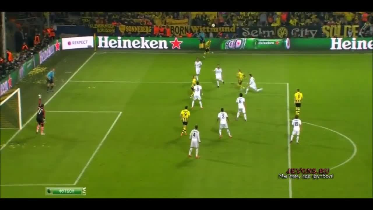 Лига чемпионов реал мадрид боруссия д онлайн видео