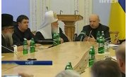 Пастор церкви Евангельских Христиан Баптистов, он же спикер парламента и исполняющий обязанности Президента Александр Турчинов встретился с главами церквей Украины