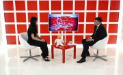 Интервью на 8 канале. Валерий Власов, Юлия Ясинская
