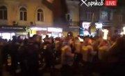 Харьков. Факельное шествие .