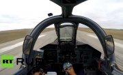Из кабины пилота- полет новейшего Су-25СМ3 от первого лица