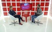 Интервью на 8 канале. Артур Лукава, Виктория Исаенкова