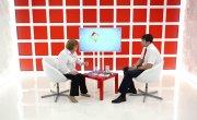 Интервью на 8 канале. Валерий Власов, Светлана Гринберг