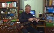 Metallica - Master of puppets (Бас тэппинг фрагмент)