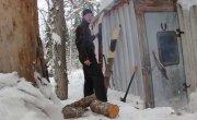 Январская тайга, не последний одиночный поход, зима, стужа, жизнь. Просили Снимаю.
